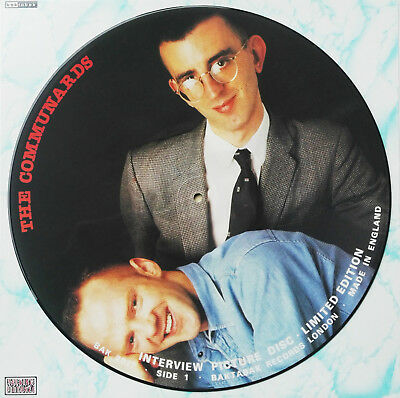 COMMUNARDS - Limited Edition Interview Picture Disc UK