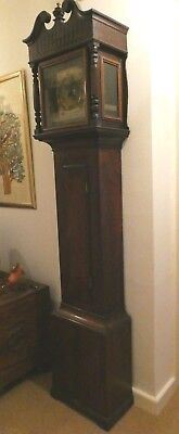 Late 18th cent. longcase clock, brass dial, Christopher Day, South Molton, Devon