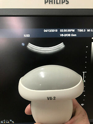 Philips V6-2 3D/4D Probe For Iu22 Hd11Xe Ultrasound Perfect Working Order