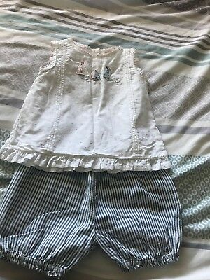 Baby Girl Next Summer Outfit 9-12 Months