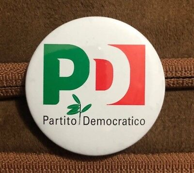 Spilla Partito Democratico - Pin Badge PD