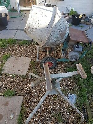 Electric Cement Mixer 240v