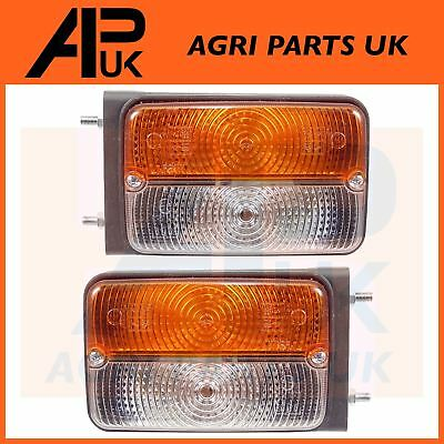 Case IH Maxxum 5120 5130 5140 5150 MX100 Tractor Side Light Front Lamp PAIR