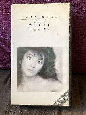 Kate Bush The Whole Story VHS ( Includes The Big Sky )