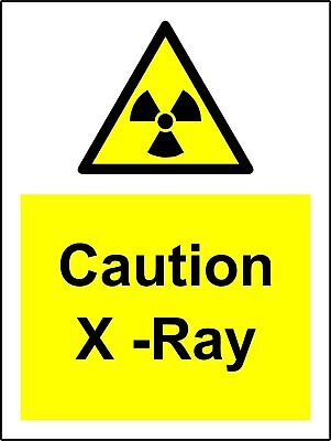 Caution X-Ray - Safety Sign