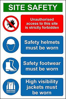 Construction/Building Site Safety Sign