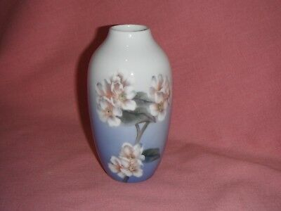 Royal Copenhagen VASE- #949 Dogwood/Apple Blossoms Factory First & Perfect!