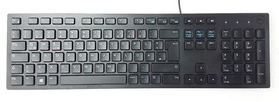 DELL Multimedia Tastatur KB216-BK-GER USB Kabel