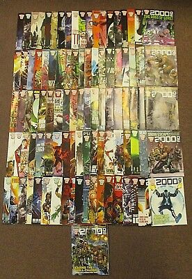 2000AD Comics Job Lot of 96
