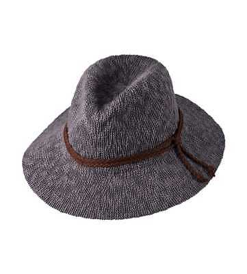 Ladies Safari Hat Grey