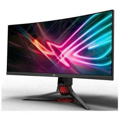 "Asus Rog Strix Curved Xg35vq, 35"" Uwqhd (3440x1440) Gaming Monitor,   Va, Up To"