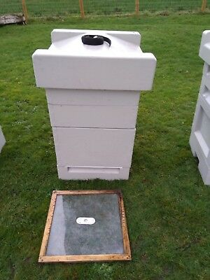 Used Beehive, Jumbo brood box 14x12, 2 supers, National, polystyrene, NO BEES