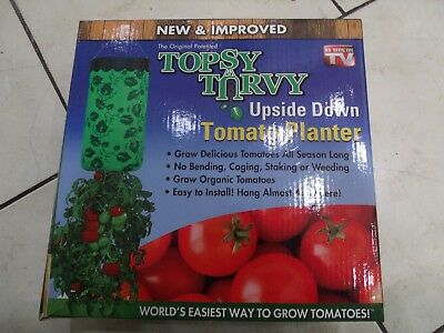 Topsy Turvy Upside Down Hanging Tomato Planters New and Improved 3-pack