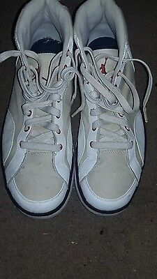 3d5e07c44111 Nike Air Jordan MCMLXXVIII High Tops Basketball Shoes red white and blue  2009