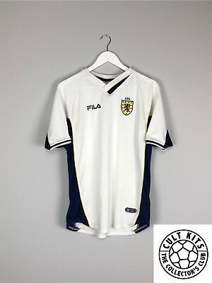 SCOTLAND 00/02 Away Football Shirt (M) Soccer Jersey Fila
