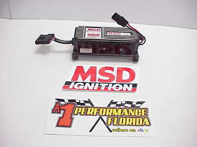 MSD HVC CDI High Output Ignition Box #6601 from a NASCAR Championship Team IMCA