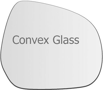 A7 LEFT SIDE Wing Mirror Glass Silver Convex 2011 to 2018