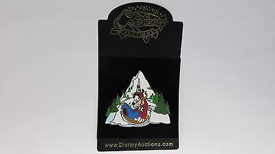 Disney Auctions Exclusive 2004 Pin ( Goofy Sledding ) Limited Edition of 250