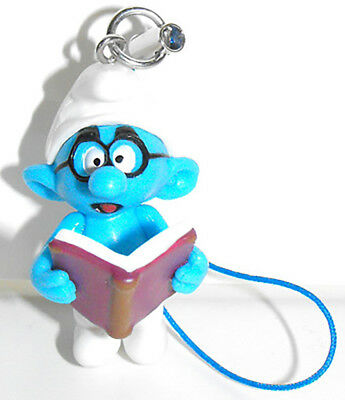 Brainy Smurf 3D Figure Charm THE SMURFS Purse Hanger Bag Dangler by Cool Things