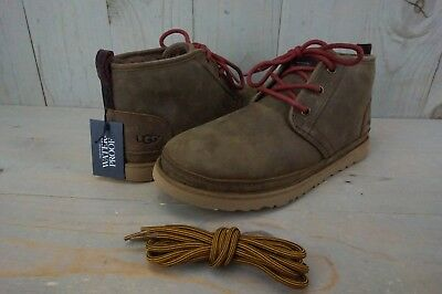 8f5d8ccbd6e UGG NEUMEL WATERPROOF Leather Grizzly Chukka Ankle Boots Mens Us 10 Nib