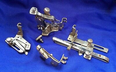 Vintage Singer Sewing Machine Attachments 36594, 36583, 35931, 1261 and box