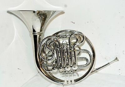 Used Maestro * * FRENCH HORN * * Musical Instrument - One Mouthpiece & Case