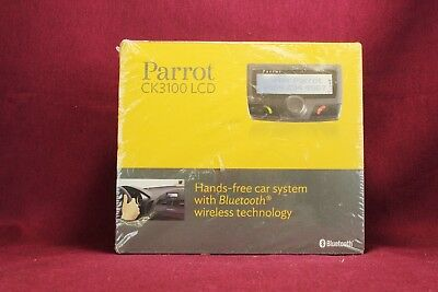 Parrot Ck3100 Lcd Hands Free Car System, Bluetooth, New In Shrink Wrap      #ec#