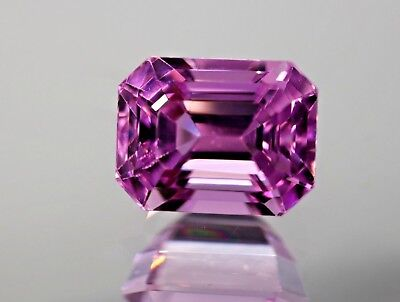 FL,10.25ct,Asher Cushion shape Pink color Kunzite from Afghanistan