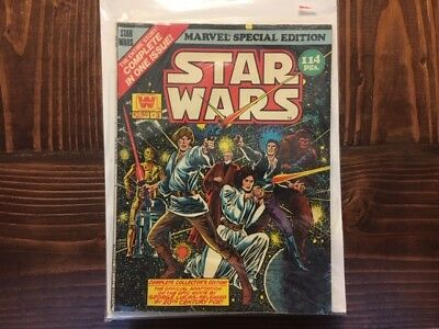 Star Wars Oversized Comic Special Edition #3 (1978) Vintage Marvel Comic