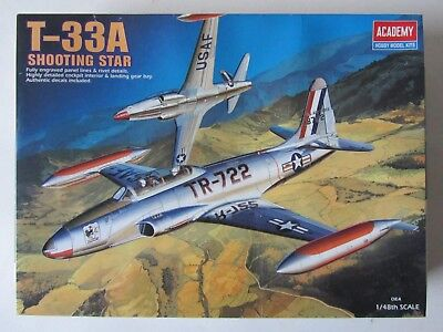 ACADEMY 2185 -- T-33A Shooting Star in OVP 1/48
