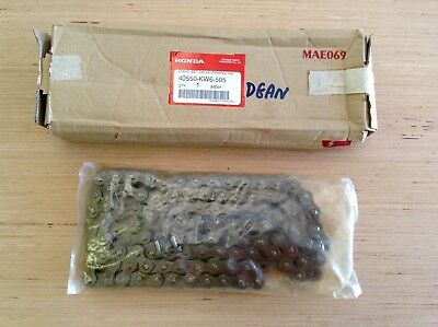 HONDA Genuine Parts Motorcycle Chain Set Drive 40550-KW6-505 (RKM520-108) NEW