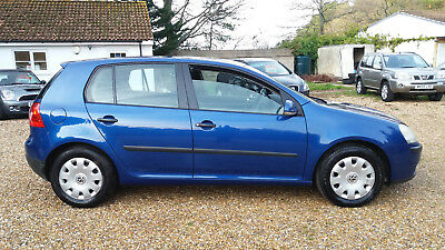 2005 Vw Golf 1.6 Fsi Mk 5 - Lovely Colour In Beautiful Condition, Long Mot