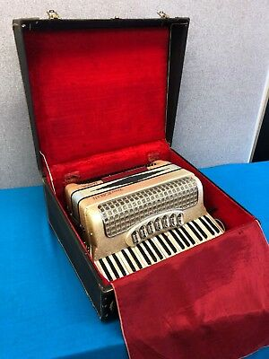 Vintage Vinny Roberts Classic Accordion w/ Case