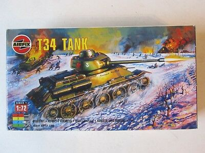 AIRFIX 01316 - T34 Panzer in OVP 1/72