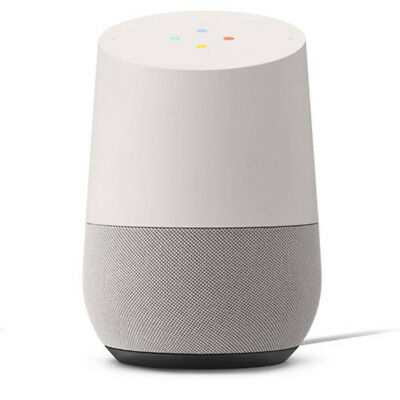 Google Home Smart Speaker with Google Assistant, White/Slate (GA3A00417A14)