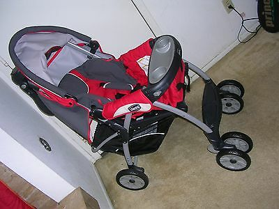 Chicco Cortina KeyFit 30 Fuego Travel System Single Seat Stroller (No Car Seat )