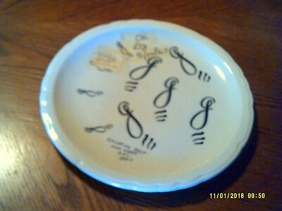 Vintage Advertising Plate GALLATINS Restaurant Ware Shenango China USA 1967