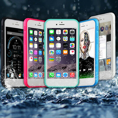 New Waterproof Shockproof Hybrid Rubber TPU Phone Case Cover For iPhone 6P G71S