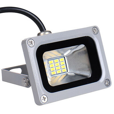 10W Flood Light LED Spot Light Floodlight Outdoor Garden Lamp 12V Cool White
