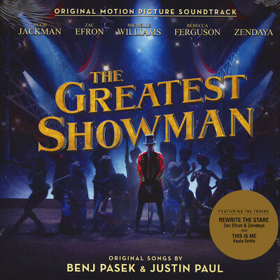 The Greatest Showman CD Album Original Motion Picture Soundtrack New Sealed