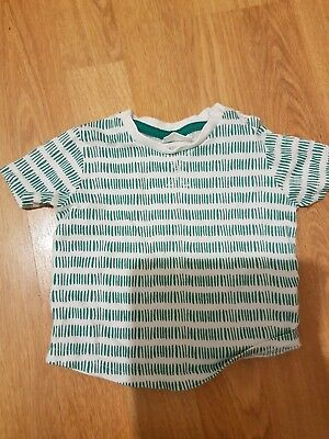 green baby t-shirt up to 3 months