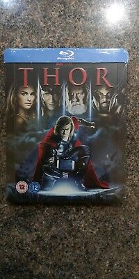 Thor Zavvi UK Exclusive Blu Ray Steelbook - New and Sealed Rare