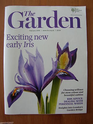 RHS MAGAZINE The Garden - FEBRUARY 2016 - Flowers Plants Horticulture - VGC
