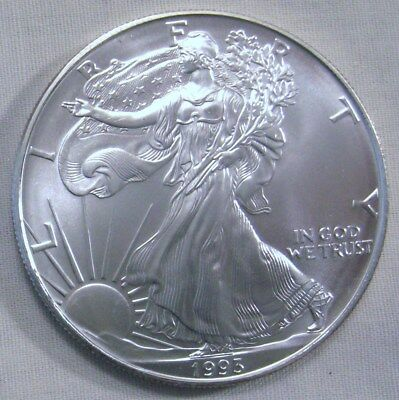 1993 American Silver Eagles BU - from USA