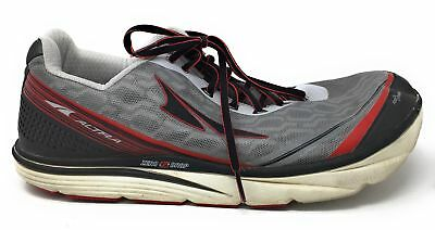 Altra Torin IQ Men's Road Running Shoe, Gray/Red, 12 Used