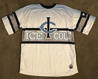 "Elite ""Ice Cold"" #3 Sublimated Softball Jersey Texas Size L Large"