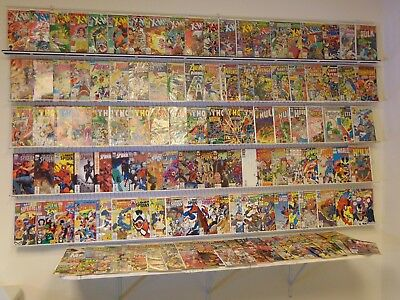 Huge Lot of 135+ comics X-Men, Thor, Spider-Man, Avengers & more avg FN/VF