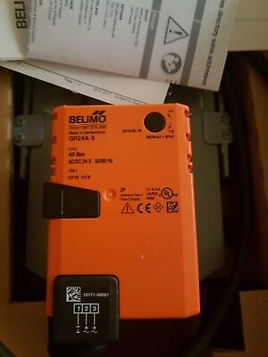 Belimo DR24A-5 Rotary Actuator 40Nm Ac/Dc 24v Modulating New Boxed