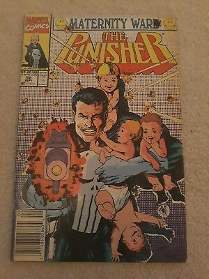 The Punisher comic 52 Sept