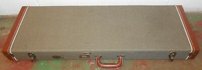 Stagg Gold Tweed Hard Electric Guitar Case